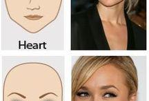 wenkbrauw maken naar vorm van het gezicht