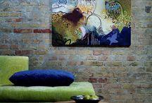 DEKORACJE ŚCIENNE / wall decor / Interior inspirations / by Homebook.pl