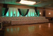 Buffalo Backdrop Designs / Buffalo Wedding & Event Decor. Backdrops for wedding head tables, showers, anniversaries, birthdays, charities, & more
