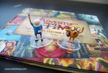 "Awesome Adventure Time ""The Original Cartoon Title Cards"" Art Book"