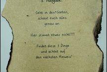 Schnitzeljagd / Schatzsuche
