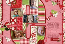 S is for super scrapbooking layouts / by Kathryn Smith