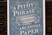 typography / by Erin Beckloff
