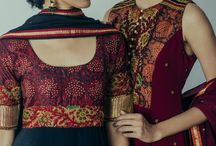 Salwaar Collection 2017 / Ready to wear ensembles! These are unique creations that could have been inspired from fabrics that have just arrived in the workshop, or inspired from the fun colours of the season, or inspired from some traditional crafts picked up from a recent travel! You buy these outfits just as you see it. They can be resized to fit your measurement and not customised in design.