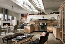 Industrial Style / Kitchen, arredamento.