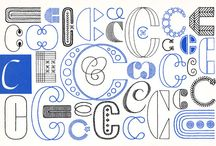 Arts: Typography. / by Ashley A