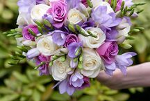 dekoracje fiolet