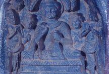 Gandhara Indra and Brahma Entreat theBuddha to Preach / Indra and Brahma Entreat theBuddha to Preach Gandhara