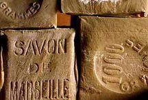 Savon de Marseille / Zeepkettingen gemaakt met Savon de Marseille zeep