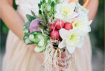 Garden veggie bouquet