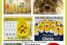 Spring crafts/ideas/foods