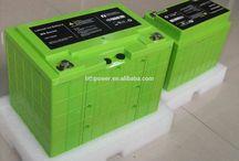 Lithium Batterie-Feld
