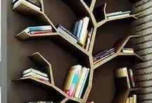 livros, prateleiras