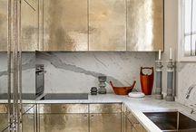 Gold mutfak dolabı