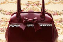 Hezké a roztomilé kabelky / převážně japonské (lolita, otome kei, atp.) a retro kabelky