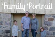 Family Portrait Ideas!
