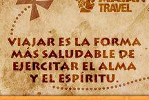 Travel Quotes / Frases de viajero