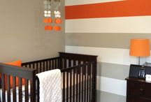 Wesley's nursery :)  / by Christy Tanner