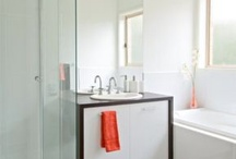Small Bathroom Design /  Dealing with a small bathroom is one part effective layout and one part illusion...