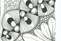 Doodles y Zentagles.