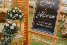 Simple White Rustic Wedding