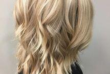 Snygga frisyrer och färg
