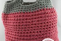 Bolsos trapillo / Tejidos hecho a mano, utilizando crochet, trapillo y mucho cariño <3