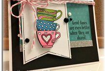 Tea cup cards