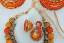 Silk Thread Jewelry - Design paradise / Hand made jewelry