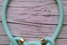 Hilo paracaidista / Diseños collares y pulseras realizadas con hilo de paracaidista