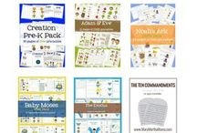 Preschool Bible Packs