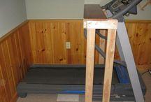 DIY Treadmill Desks