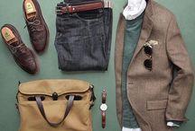 szafa jesienno-zimowa / Zestawy ubraniowe na jesień i zimę w stylu casual i smart-casual