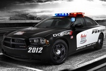 hotted up police cars