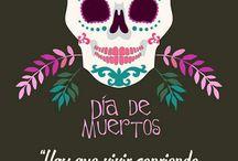 Día de muertos / Esto es lo que. Amo me gusta de día de muertos los dulces,el altar y todo