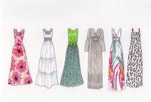 Dress drawings