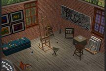 TS2 Rooms - Hobbies