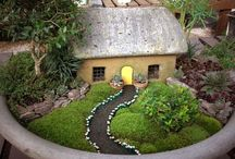 fairy gardens and outdoor miniatures
