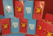 Bolsitas golosineras / Bolsas de papel personalizadas para entregar a tus invitados!!  Buscanos en www.facebook.com/cositaslindaspapeleriaexclusiva