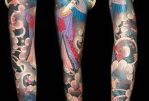Geisha Tattoos / Geisha occupied a place of significance in the Japanese culture because... http://fabulousdesign.net/geisha-tattoos-meanings/