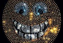 Smile Strass Hot Fix Bügelbild