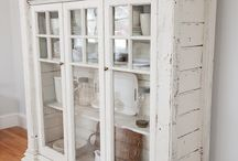"We love ""shabby chic,vintage and antique furniture"""