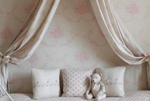 a bedroom for girls / Decor for kids