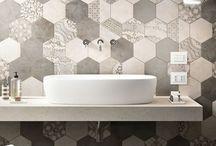 Ceramic hexagon