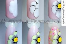 Plant nailart tutorials