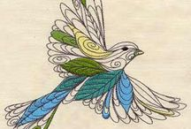 Machine Embroidery Designs / by Jamye Donson