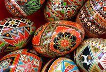 Ukrainian folk patterns