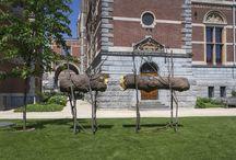Giuseppe Penone / From 10 June to 2 October 2016 the annual sculpture display in the Rijksmuseum's gardens is dedicated to Italian artist Giuseppe Penone. https://www.rijksmuseum.nl/en/penone