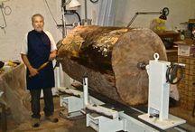 Z przymrużeniem oka / Toczenie w drewnie na wesoło, ekstremalnie i z biciem rekordów