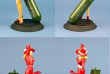 PIN UPS WW2 / These are figurines